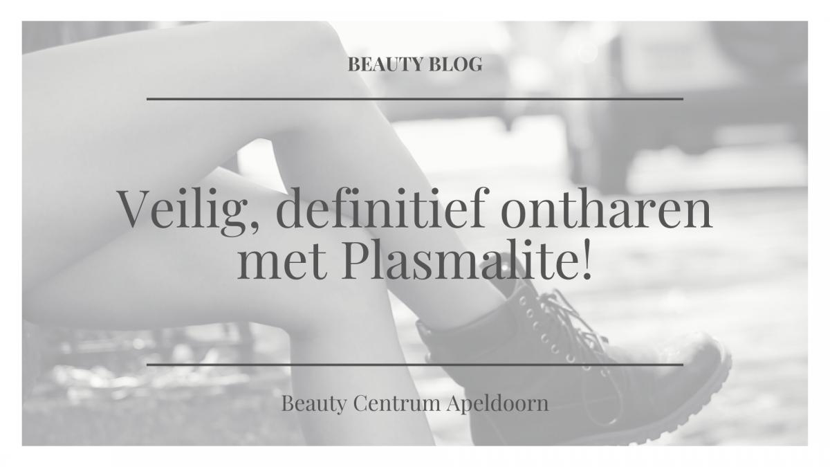 Definitief ontharen plasmalite